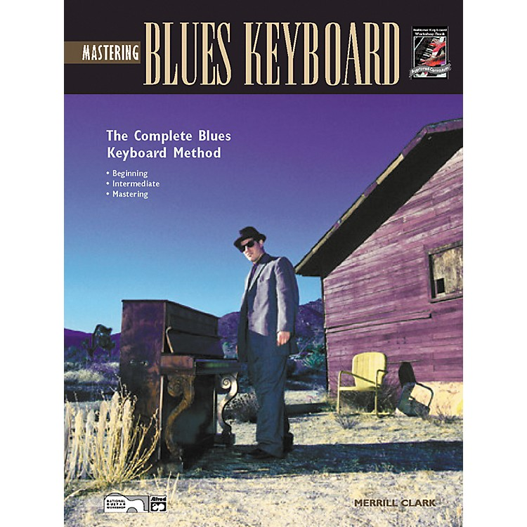 Alfred Mastering Blues Keyboard (Book/CD)
