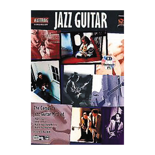 Alfred Mastering Jazz Guitar - Chord/Melody Book/CD
