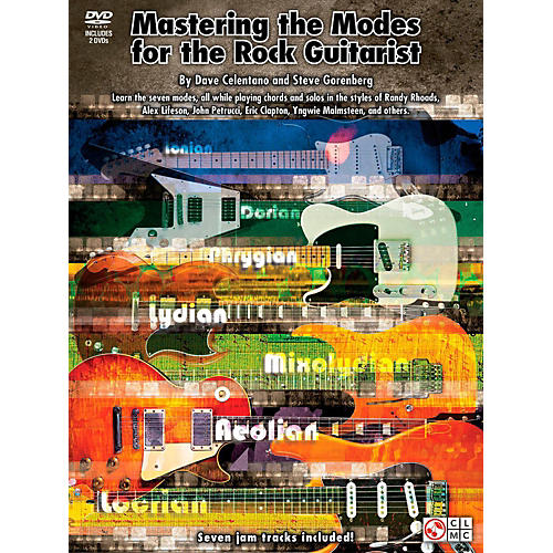 Cherry Lane Mastering The Modes For The Rock Guitarist - Book/2 DVD Pack-thumbnail