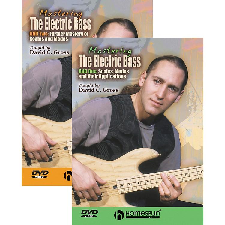 HomespunMastering the Electric Bass 2-DVD Set