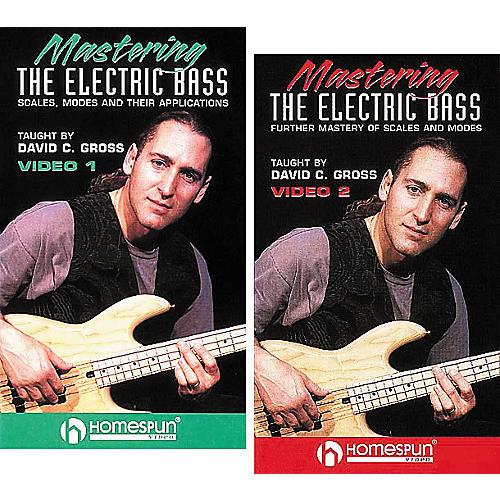Homespun Mastering the Electric Bass 2-Video Set (VHS)