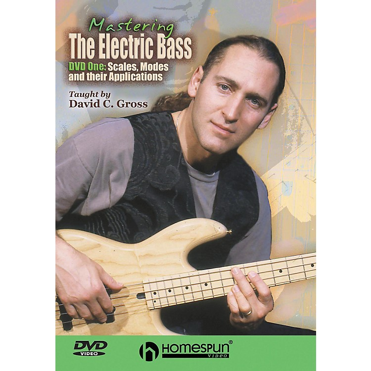 Centerstream PublishingMastering the Electric Bass: Scales 1 (DVD)
