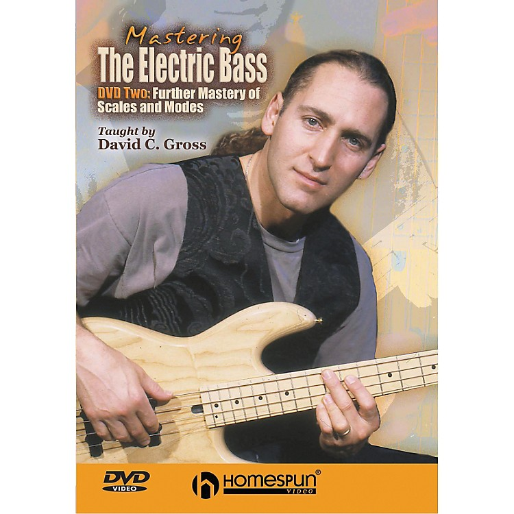 Homespun Mastering the Electric Bass: Scales 2 (DVD)