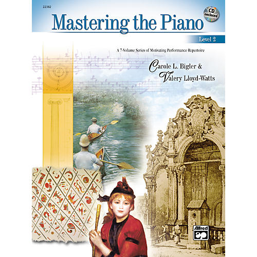 Alfred Mastering the Piano Level 2-thumbnail