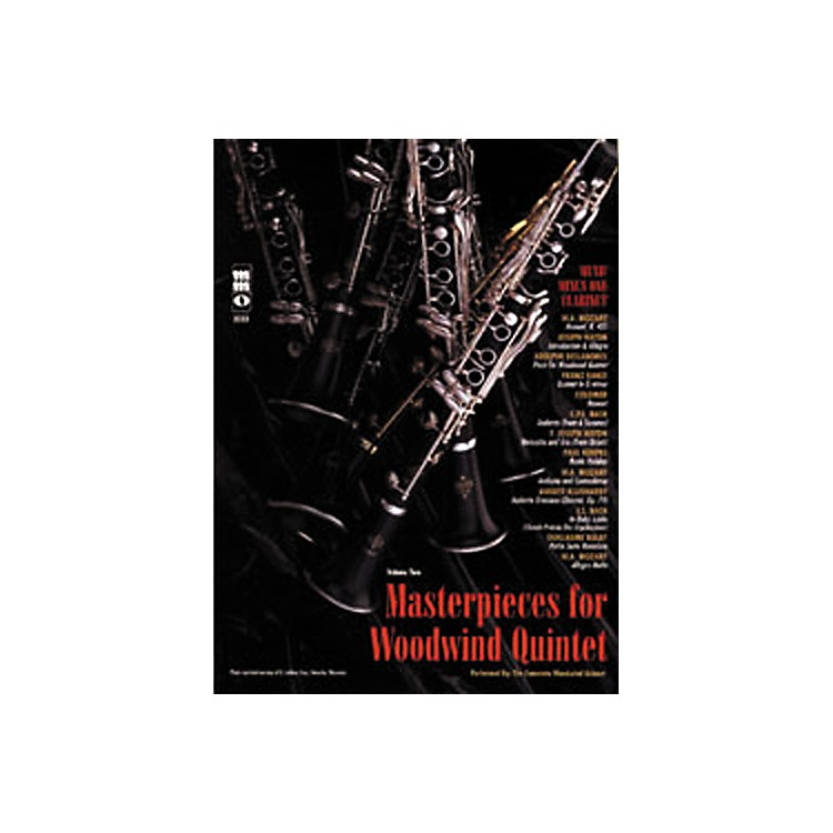 Hal Leonard Masterpieces for Woodwind Quintet Clarinet