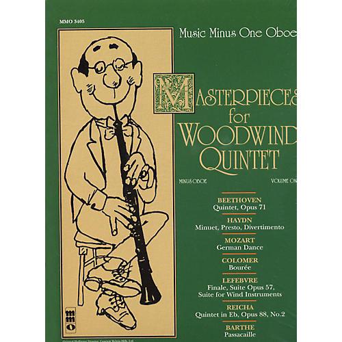 Hal Leonard Masterpieces for Woodwind Quintet Oboe-thumbnail
