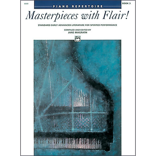 Alfred Masterpieces with Flair! Book 3 Piano-thumbnail