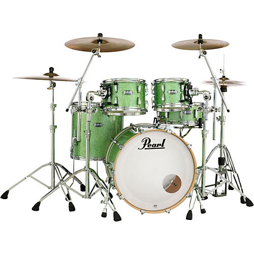 Pearl Masters Maple Complete  4-Piece Shell Pack Absinthe Sparkle A Box