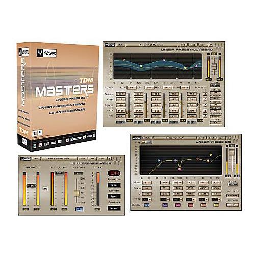 Waves Masters TDM Plug-In Bundle Hybrid CD Win/Mac Hybrid CD Win/Mac