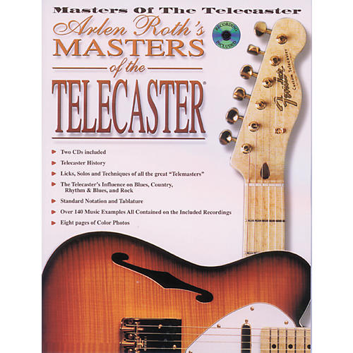 Alfred Masters of The Telecaster Book w/2 CDs