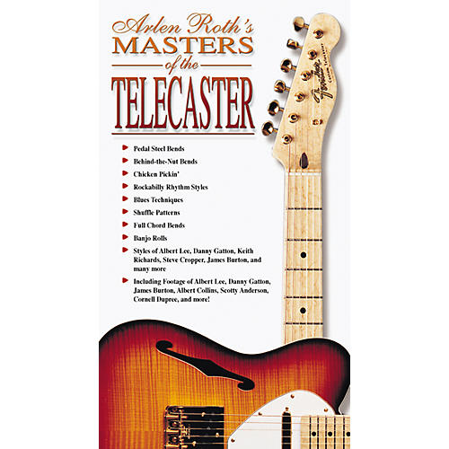Alfred Masters of The Telecaster Video