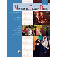 Alfred Masterwork Classics Duets Level 1 Elementary