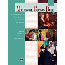 Alfred Masterwork Classics Duets Level 4 Early Intermediate / Intermediate