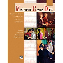 Alfred Masterwork Classics Duets Level 6 Late Intermediate
