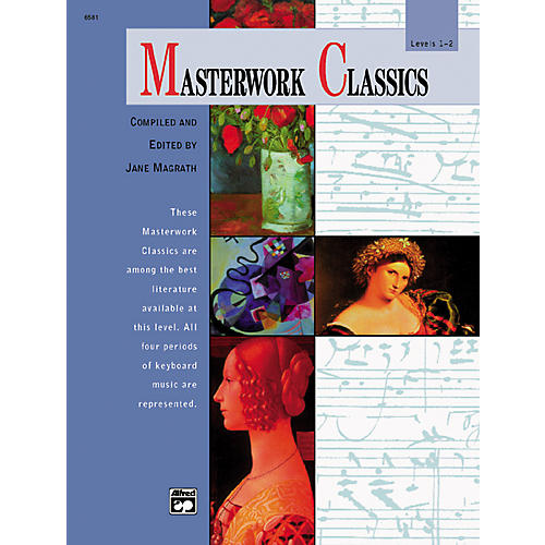 Alfred Masterwork Classics Level 1 & 2 Book & CD