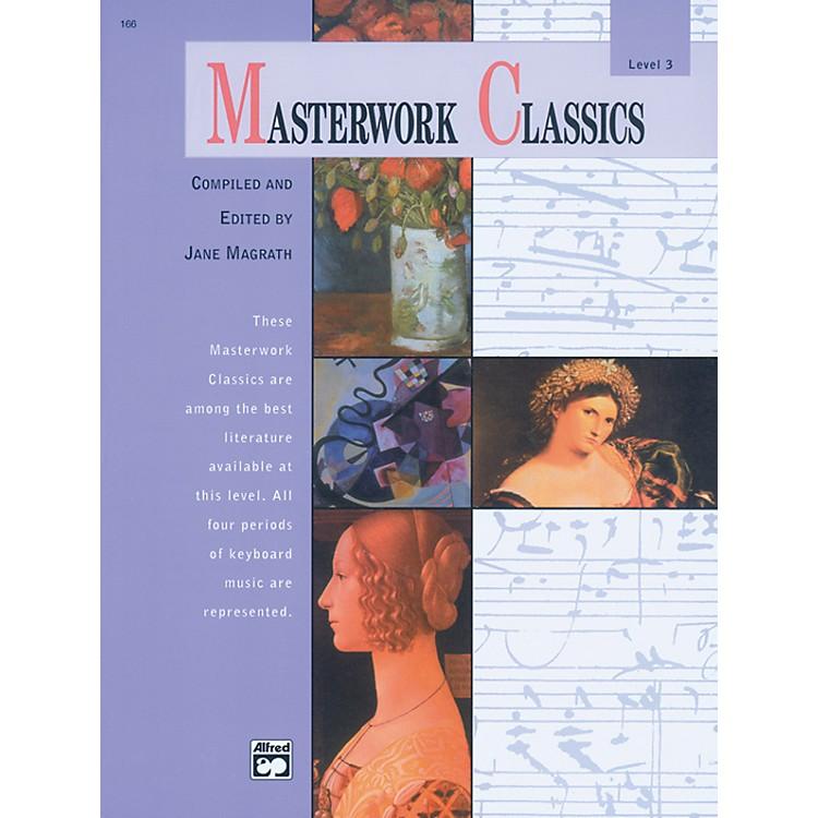 AlfredMasterwork Classics Level 3 Level 3 Book & CD