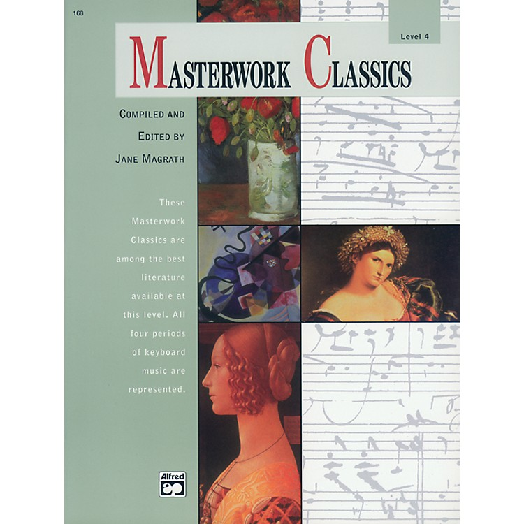 AlfredMasterwork Classics Level 4 Level 4 Book & CD