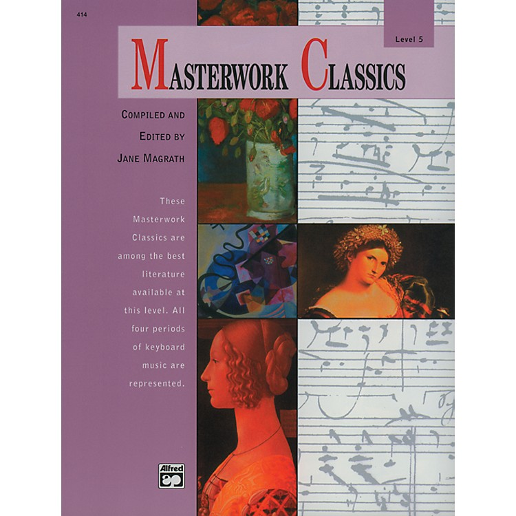 Alfred Masterwork Classics Level 5 Level 5 Book & CD