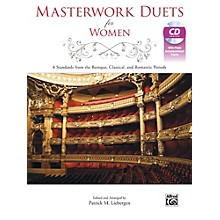Alfred Masterwork Duets for Women Book & Acc. CD