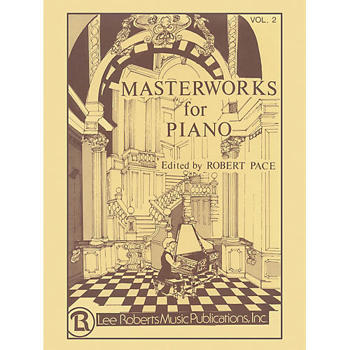 Lee Roberts Masterworks for Piano - Volume 2 Pace Piano Education Series-thumbnail