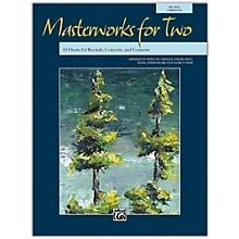 Alfred Masterworks for Two Book Junior High, High School & Adult