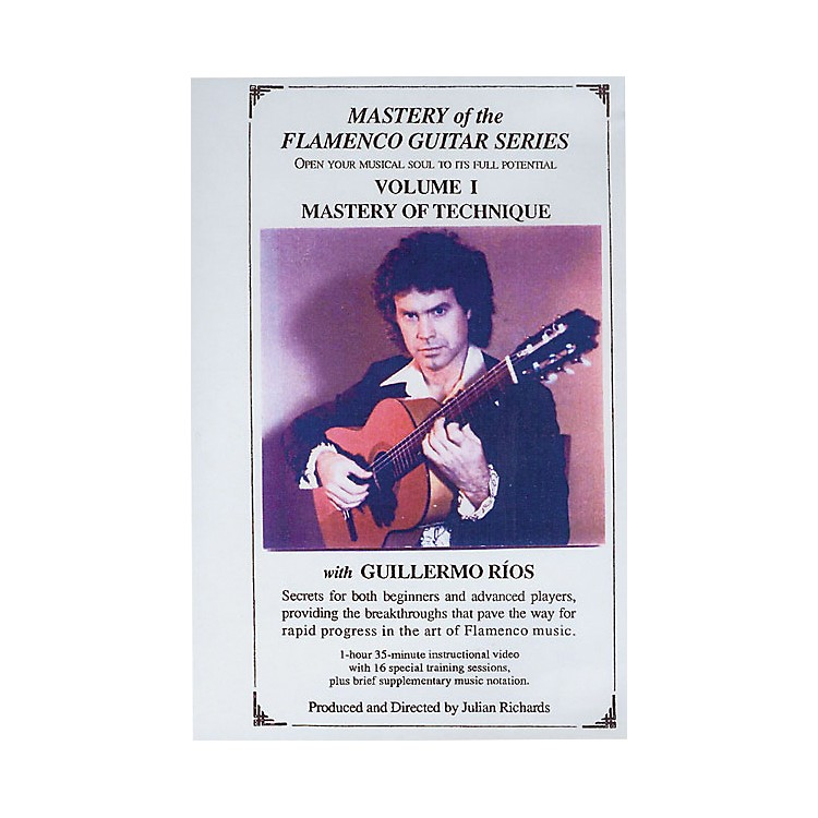 Mel Bay Mastery of the Flamenco Guitar Series DVD, Volume 1