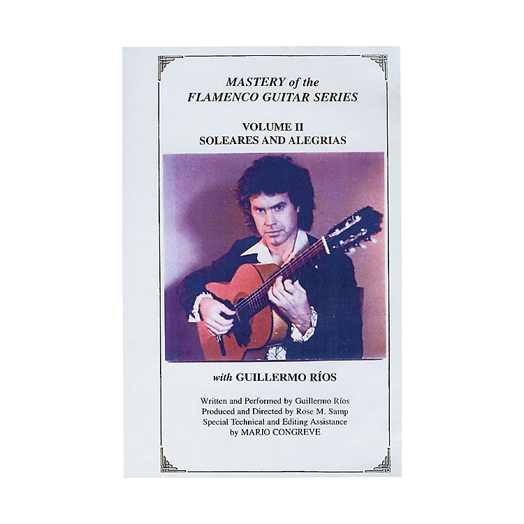 Mel Bay Mastery of the Flamenco Guitar Series DVD, Volume 2