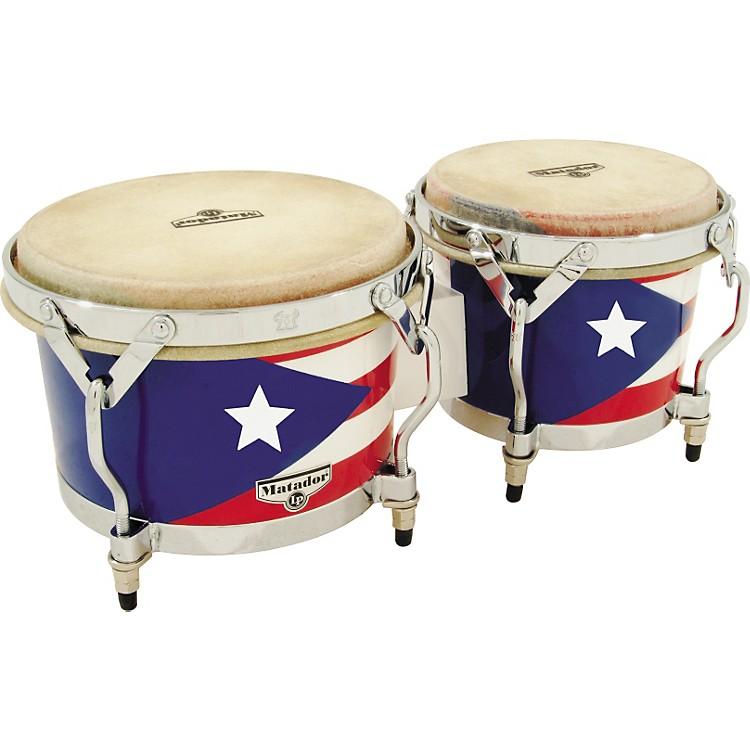 LPMatador Puerto Rican Flag Bongos