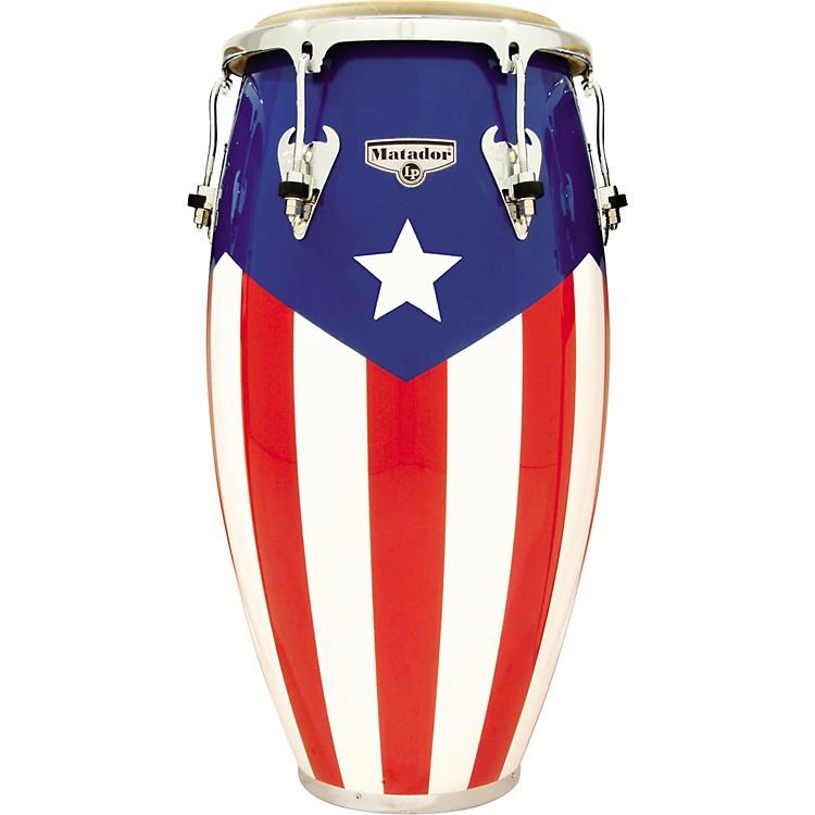 LPMatador Puerto Rican Flag Conga11-3/4 Inch