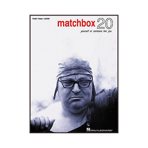 Hal Leonard Matchbox 20 - Yourself or Someone like You Songbook-thumbnail