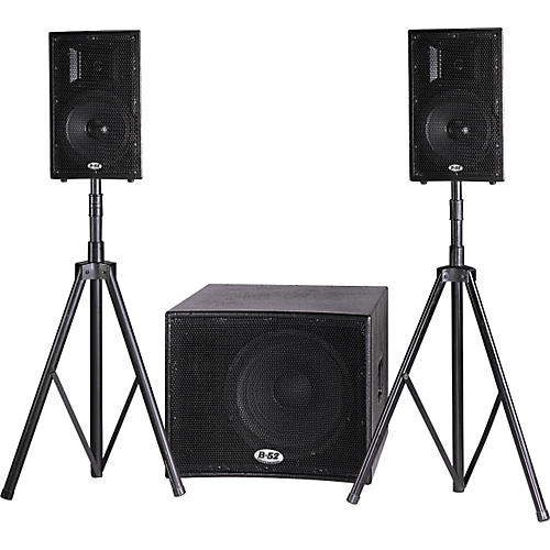 B-52 Matrix-1000V2 PA System with Stands-thumbnail