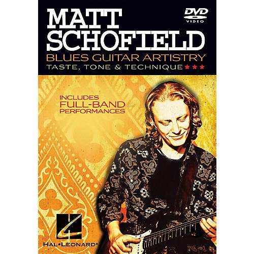 Hal Leonard Matt Schofield - Blues Guitar Artistry Instructional/Guitar/DVD Series DVD Performed by Matt Schofield