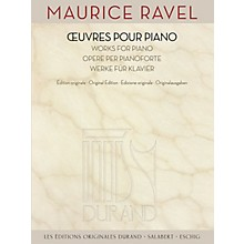 Durand Maurice Ravel - Works for Piano Editions Durand Series Softcover