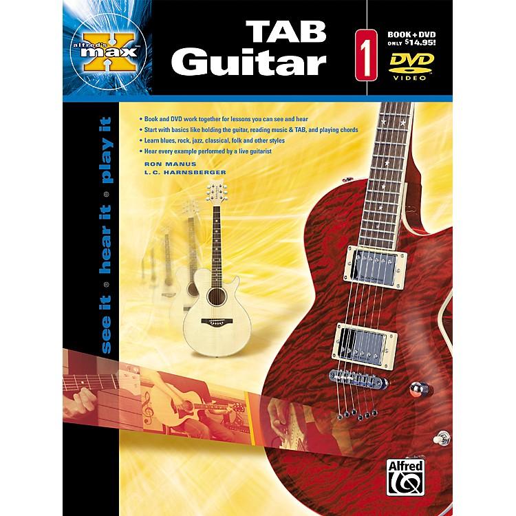 AlfredMax Tab Guitar 1 (Book and DVD)