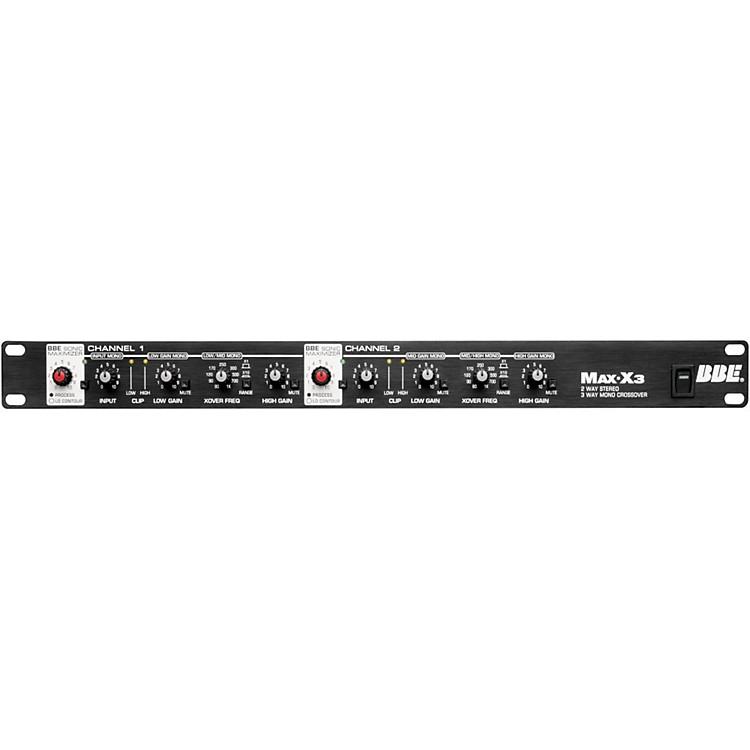 BBEMax-X3 2-Way Stereo/3-Way Mono Crossover
