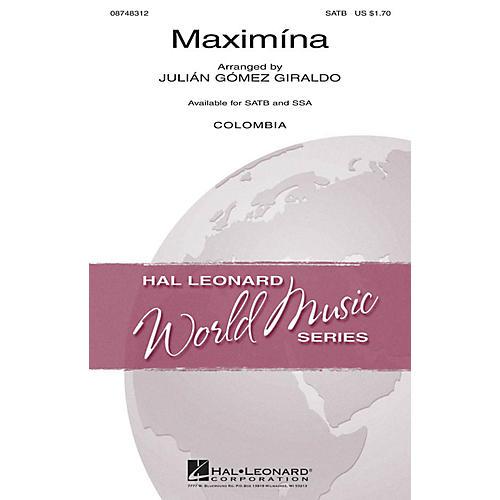 Hal Leonard Maximína SSA Arranged by Julián Gómez Giraldo-thumbnail