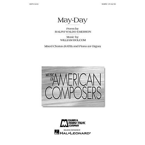 Edward B. Marks Music Company May-Day SATB composed by William Bolcom-thumbnail
