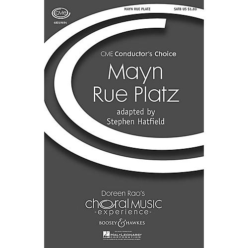 Boosey and Hawkes Mayn Rue Platz (CME Conductor's Choice) SATB arranged by Stephen Hatfield-thumbnail