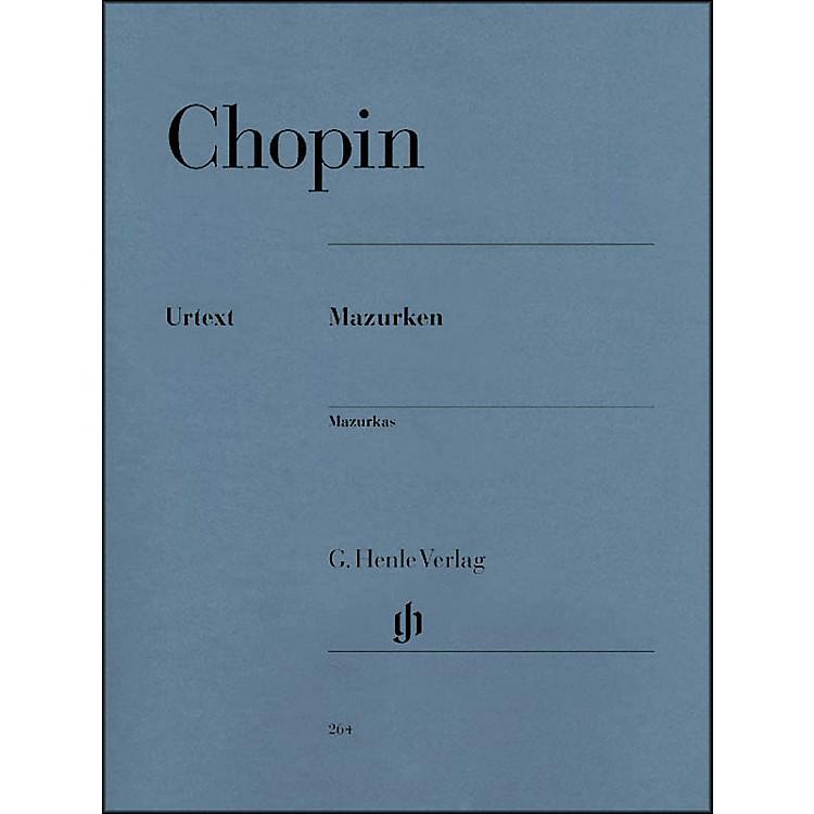 G. Henle VerlagMazurkas By Chopin
