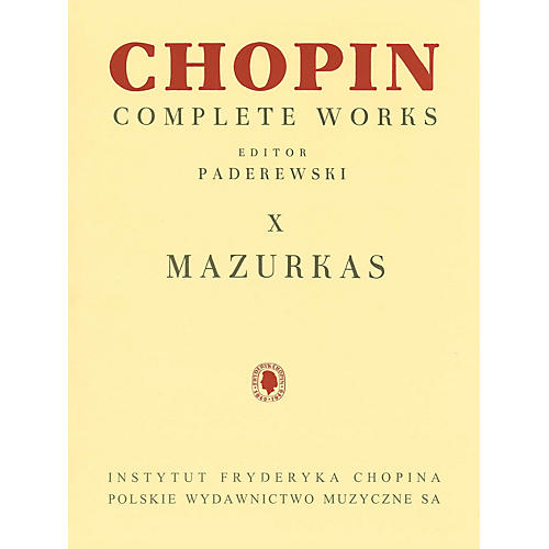 PWM Mazurkas (Chopin Complete Works Vol. X) PWM Series Softcover-thumbnail