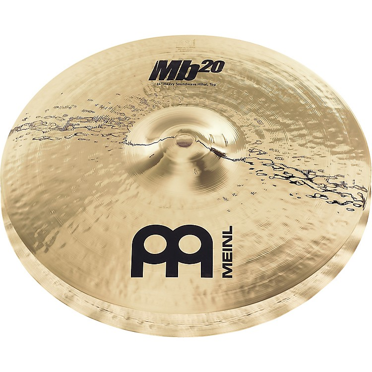 MeinlMb20 Heavy Soundwave Hi-Hat Cymbals15
