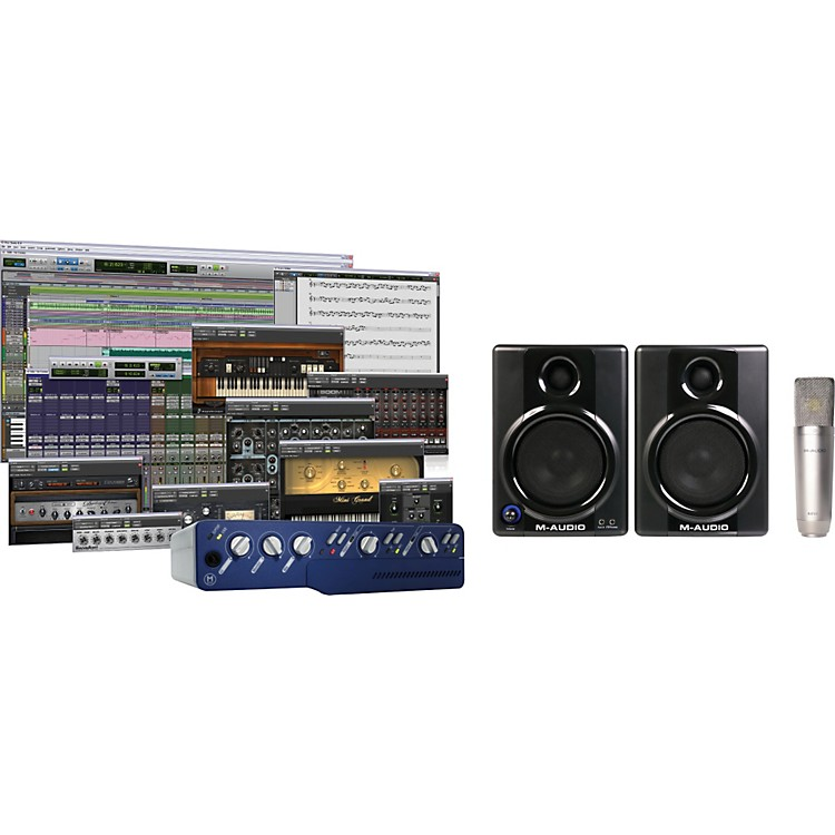Digidesign Mbox 2 Factory Holiday Studio Bundle