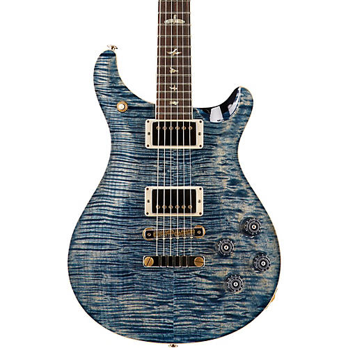 PRS McCarty 594 Figured Maple 10 Top with Nickel Hardware Electric Guitar Faded Whale Blue