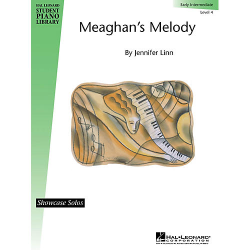 Hal Leonard Meaghan's Melody (Showcase Solos) Piano Library Series by Jennifer Linn (Level Early Inter)-thumbnail