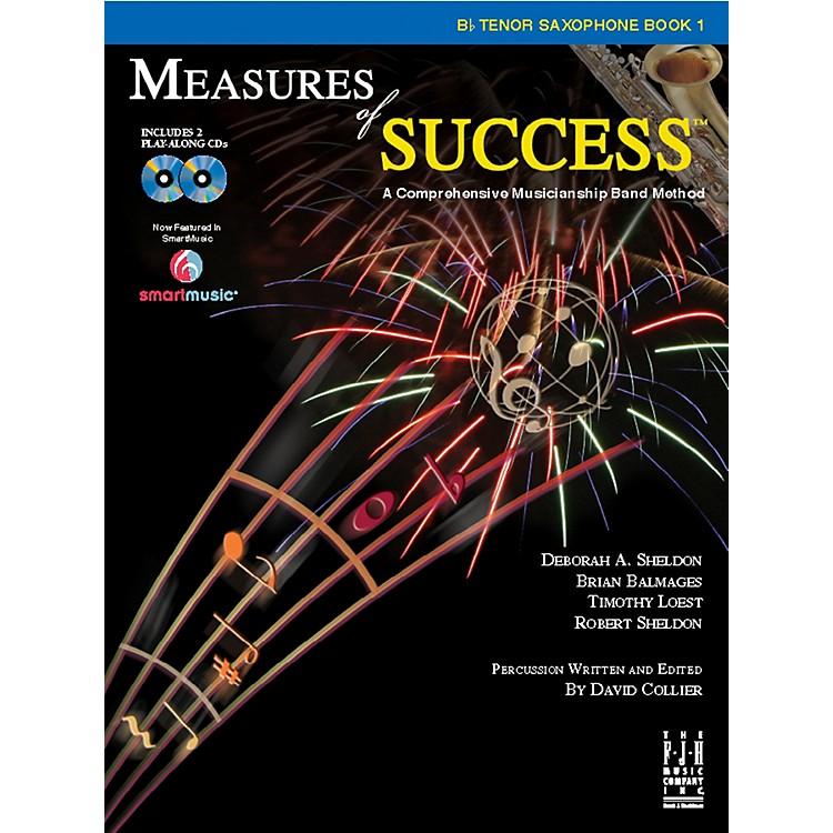 FJH MusicMeasures of Success B-flat Tenor Saxophone Book 1