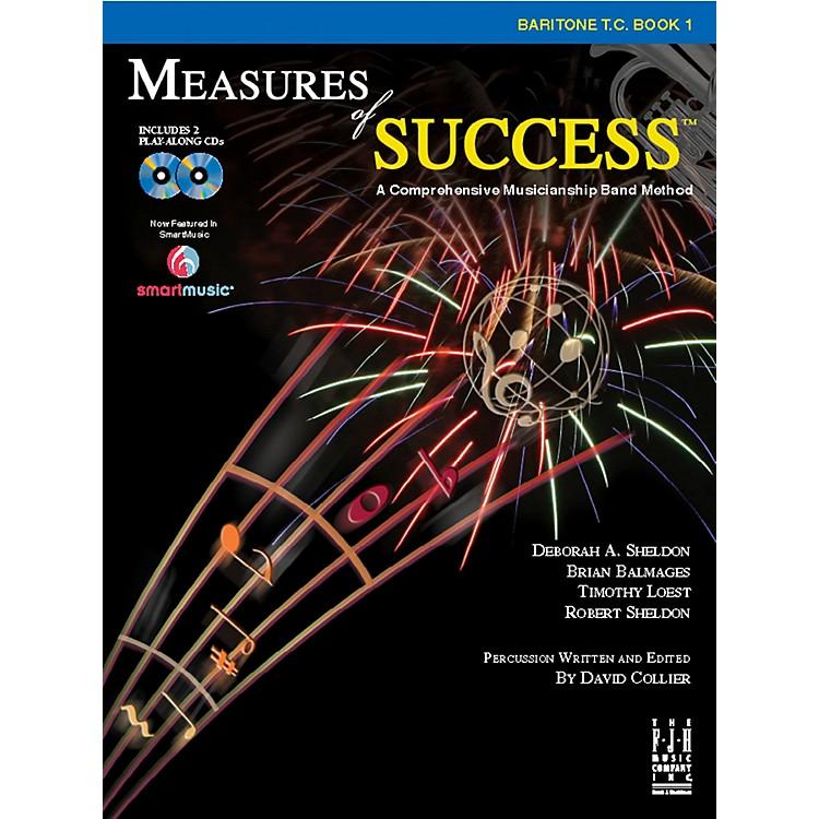 FJH MusicMeasures of Success Baritone T.C. Book 1