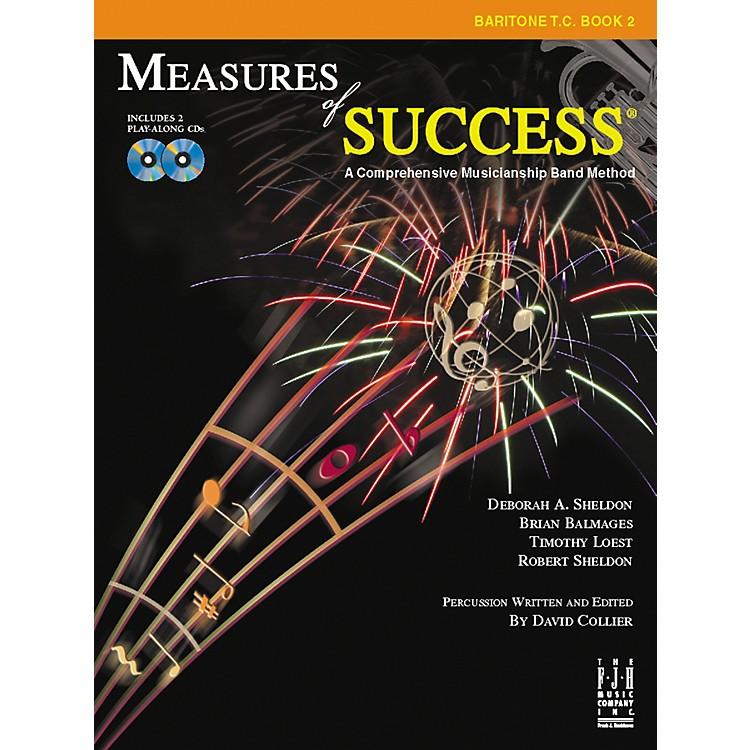 FJH MusicMeasures of Success Baritone T.C. Book 2