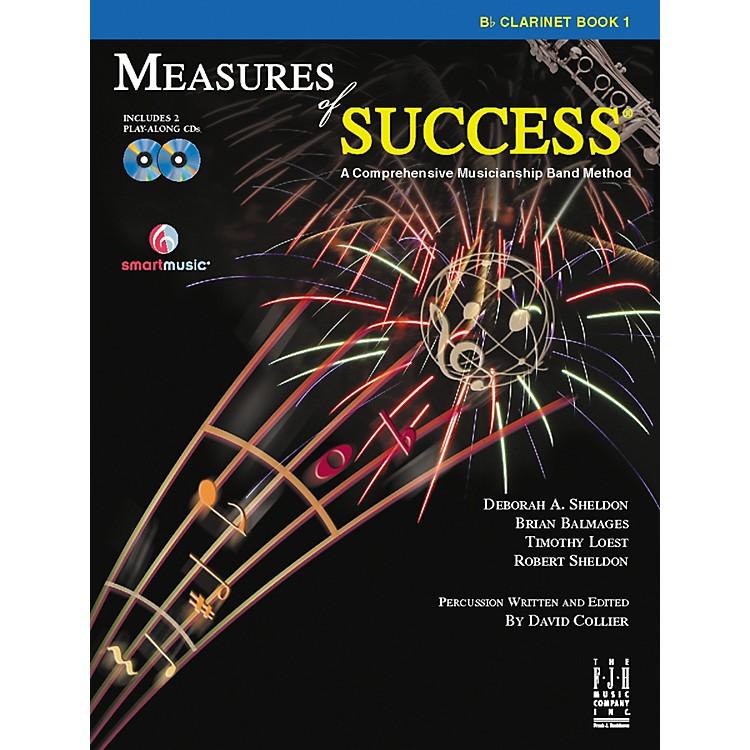 FJH MusicMeasures of Success Clarinet Book 1