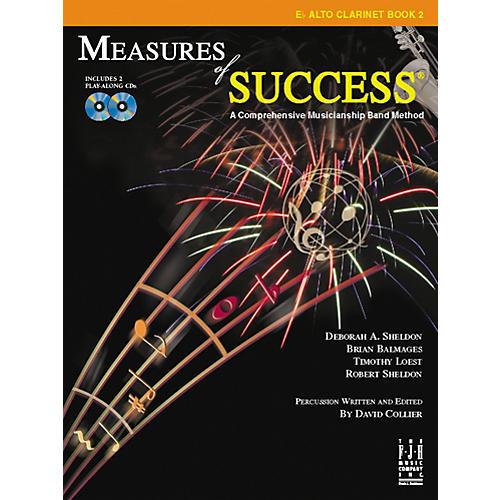 FJH Music Measures of Success E-flat Alto Clarinet Book 2-thumbnail
