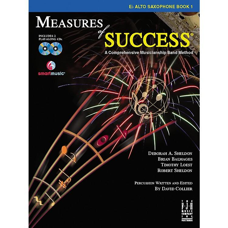 FJH MusicMeasures of Success E-flat Alto Saxophone Book 1